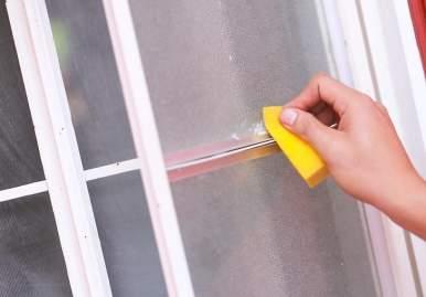 Как можно очистить скотч от пластикового окна: обзор эффективных средств в Санкт-Петербурге